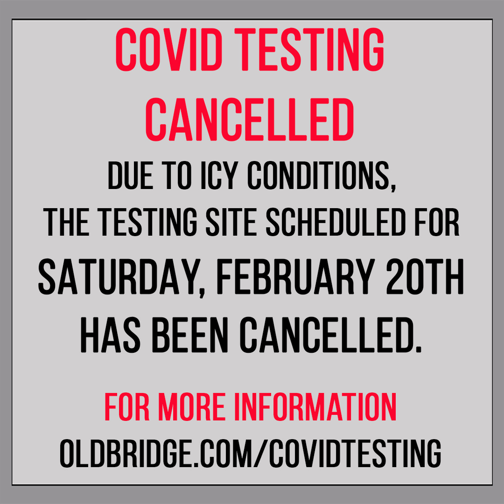 Testing Cancelled