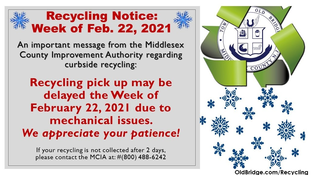 Recycling Delays Info